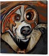 Sherdog Holmes Canvas Print