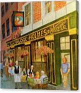 Sherlock Holmes Restaurant Canvas Print