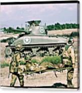 Sherman Advance Canvas Print