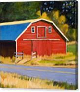 Sherman Barn Canvas Print