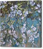 Sherry Flower 1 Canvas Print