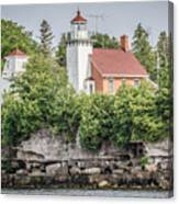 Sherwood Point Lighthouse Canvas Print
