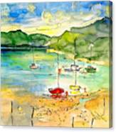 Shieldaig In Scotland 03 Canvas Print