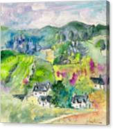 Shieldaig In Scotland 06 Canvas Print