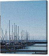 Shilshole Bay Marina 2010 Canvas Print