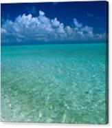 Shimmering Ocean Canvas Print