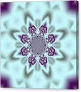 Shimmering Snowflake Canvas Print