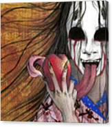 Shinigami Canvas Print