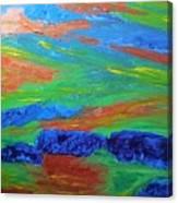 Shinning Sea Canvas Print
