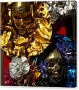 Shiny Masks In Venice Canvas Print