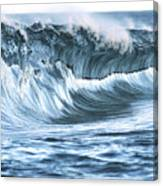 Shiny Wave Canvas Print