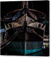 Ship Of Yesteryear Canvas Print