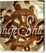 Ship Shape 1908 Canvas Print