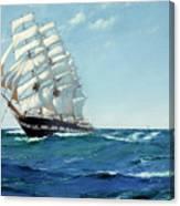 Ship Waimate Canvas Print