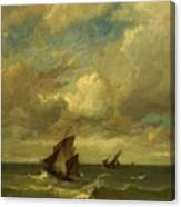 Shipping In A Breeze Canvas Print