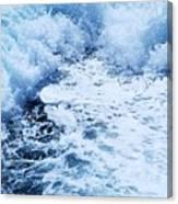 Ship's Wake Canvas Print