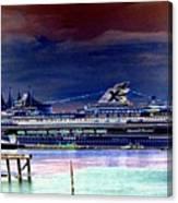 Shipshape 5 Canvas Print
