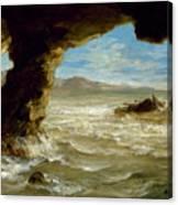 Shipwreck On The Coast  Canvas Print