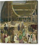 Shipyard Society Canvas Print