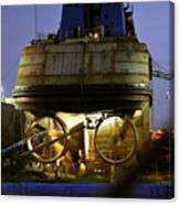 Shipyard Work Canvas Print