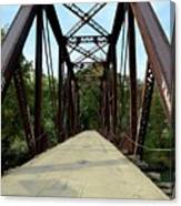 Shirley Railroad Bridge 1 Canvas Print