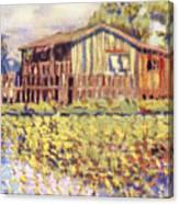Shirley Russel Art Canvas Print