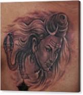 Shiva Mahadev Canvas Print