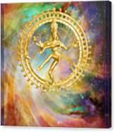 Shiva Nataraja - The Lord Of The Dance Canvas Print