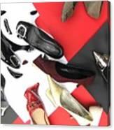 Shoe Fetishism 2 Canvas Print
