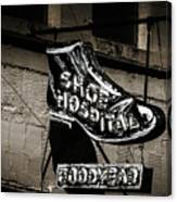 Shoe Hospital Canvas Print