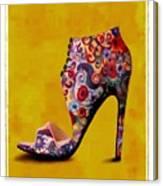 Shoe Illustration 1 Canvas Print