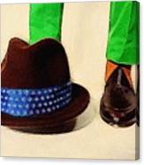 Shoe Work Canvas Print
