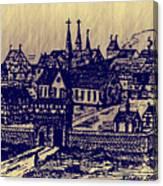 Shoenou Monastary Germany Canvas Print