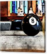 Shooting For The Eight Ball Canvas Print
