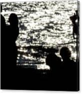 Shooting Sunset Canvas Print
