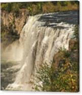 Shooting The Falls Canvas Print