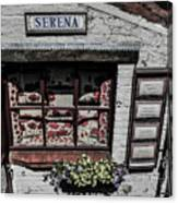 Shop Of Bruges Canvas Print