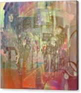 Shop-window  Canvas Print