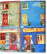 Shopfronts Galway Canvas Print