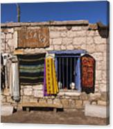 Shopping In Toconao Chile Canvas Print