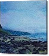 Shore Of Loneliness Canvas Print
