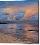 Shore Of Solitude Canvas Print