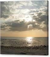 Shore Rays Canvas Print
