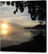 Shoreline Sunrise Canvas Print
