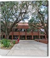 Shores Building At Florida State University Canvas Print