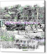 Shorey Park Bridge Canvas Print