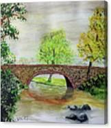 Shortcut Bridge Canvas Print