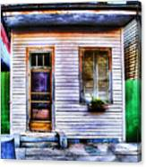 Shotgun House Number 3 Canvas Print