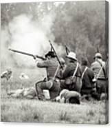 Shots Fired Civil War Canvas Print