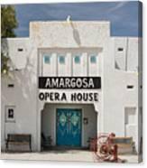 Show Tonight Amargosa Opera House Canvas Print